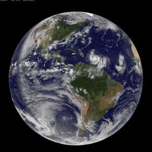 Image Credit: NOAA/NASA GOES Project