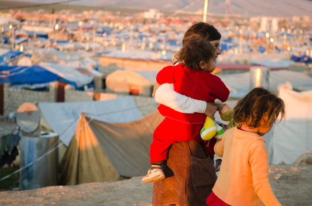 MSF is the main health care provider in Domeez refugee camp, Iraq, where more than 55,000 people, most from Syria, have settled.