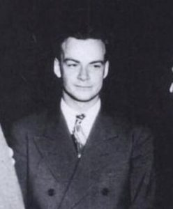 Richard Feynman at Los Alamos (via Flickr)
