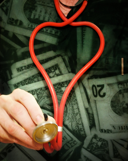 Money Behind Health Care By Truthout.org, http://www.flickr.com/photos/truthout/4171223392/